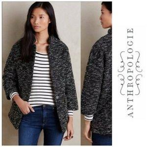 Anthro Elevenses Tweed Minka. Coat/Jacket XS